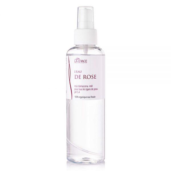 Розовая вода для лица органическая La Grace 200 мл