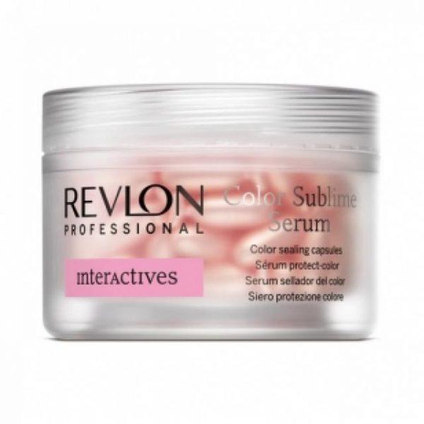 Сыворотка в капсулах для защиты цвета волос Revlon Professional Interactives Color Sublime Serum 18*1 мл
