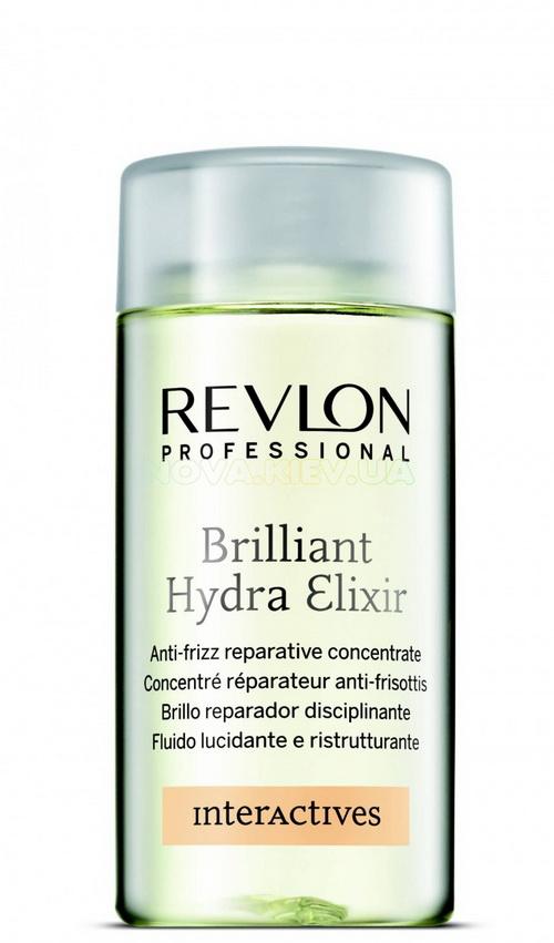 Эликсир для сухих и поврежденных волос Revlon Professional Interactives Brilliant Hydra Elixir 125 мл