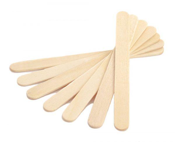 Шпатели деревянные для депиляции одноразовые 100 шт.