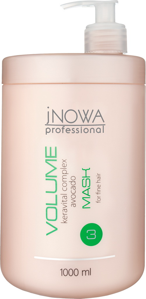 Маска для объема волос  jNOWA Professional VOLUME 1000 мл