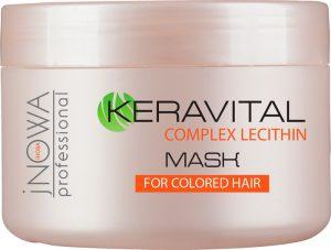 Маска для окрашенных волос jNOWA Professional KERAVITAL 250 мл