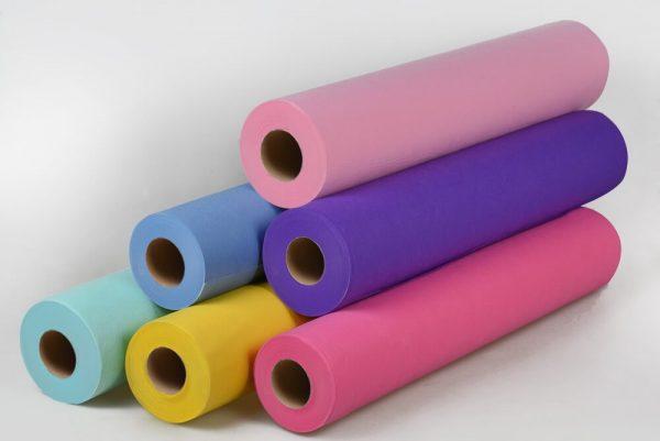 Простыни одноразовые PANNI MLADA ширина 80 см плотность 20 мг/м в рулоне 500м