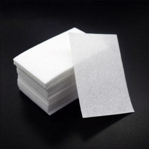 Салфетки одноразовые для маникюра 5*5 см – 100 шт