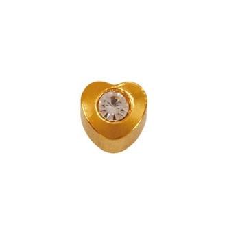 Серьги – Сердце – 4 мм. 38028