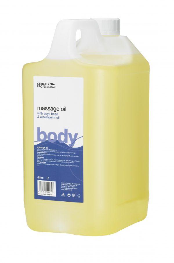 Массажное масло Зародышей Пшеницы и Сои 4 л BELLITAS