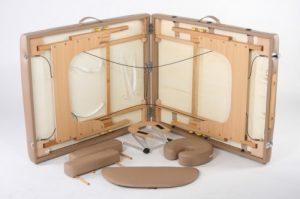 Стол массажный аллюминевый модель PRACTICE