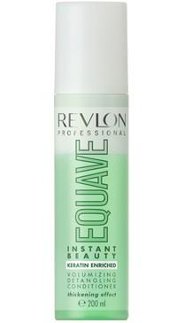 2-х фазный кондиционер для объема волос с кератином Revlon Professional Equave Volumizing Detangling Conditioner 200 мл
