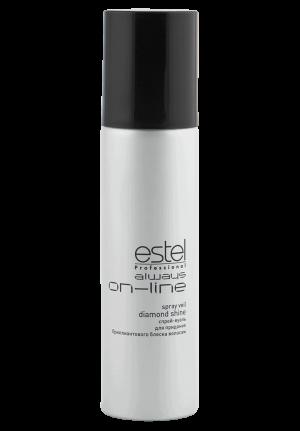 Спрей-вуаль для придания бриллиантового блеска волосам ESTEL always ON-LINE 250 мл