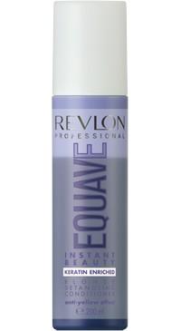 2-х фазный кондиционер для светлых блондированных и седых волос с кератином Revlon Professional Equave Blonde 200 мл