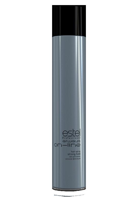 Лак для волос сильной фиксации ESTEL always ON-LINE 400 мл