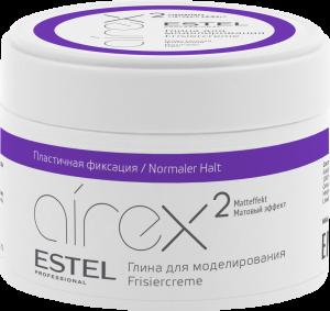 Глина для моделирования волос с матовым эффектом AIREX 65 мл