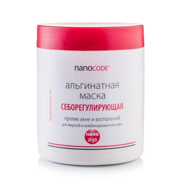 Альгинатная маска для лица СЕБОРЕГУЛИРУЮЩАЯ NANOCODE 200 г