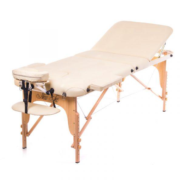 Трёхсекционный деревянный складной стол ESTHETICA