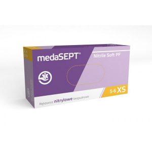 Перчатки нитриловые medaSEPT nitrile pf 200 шт