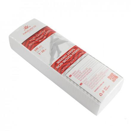 Бумага для депиляции 7х22 см MONACO Style 100 шт