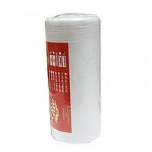 Полотенца одноразовые влаговпитывающие сетка в рулоне 100 шт РИО